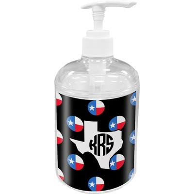 Texas Polka Dots Soap / Lotion Dispenser (Personalized)