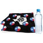 Texas Polka Dots Sports & Fitness Towel (Personalized)