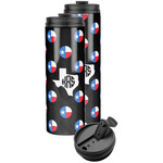 Texas Polka Dots Stainless Steel Skinny Tumbler (Personalized)