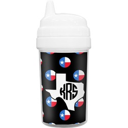 Texas Polka Dots Toddler Sippy Cup (Personalized)