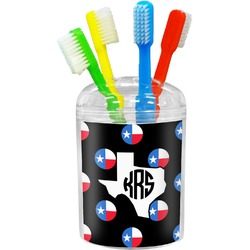 Texas Polka Dots Toothbrush Holder (Personalized)