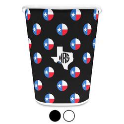 Texas Polka Dots Waste Basket (Personalized)