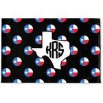 Texas Polka Dots Woven Mat (Personalized)