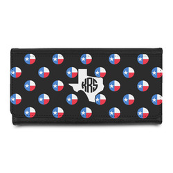 Texas Polka Dots Leatherette Ladies Wallet (Personalized)