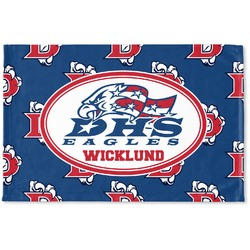 Dawson Eagles Football Woven Mat (Personalized)