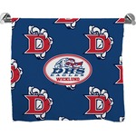 Dawson Eagles Football Full Print Bath Towel (Personalized)