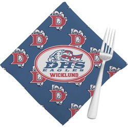 Dawson Eagles Football Napkins (Set of 4) (Personalized)