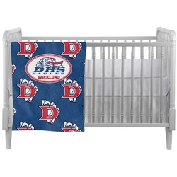 Dawson Eagles Football Crib Comforter / Quilt (Personalized)