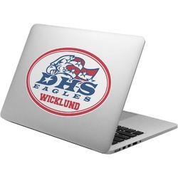 Dawson Eagles Football Laptop Decal (Personalized)