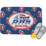 Dawson Eagles Football Memory Foam Bath Mat (Personalized)