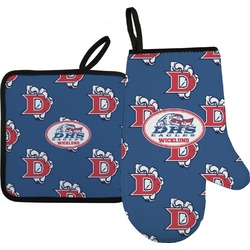 Dawson Eagles Football Oven Mitt & Pot Holder (Personalized)