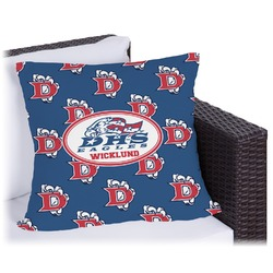 Dawson Eagles Football Outdoor Pillow (Personalized)