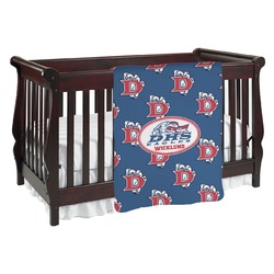 Dawson Eagles Football Baby Blanket (Personalized)