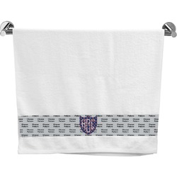 Dawson Eagles Football Bath Towel (Personalized)