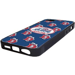Dawson Eagles Football Rubber iPhone 5/5S Phone Case (Personalized)