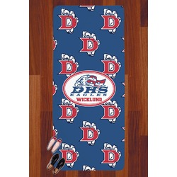 Dawson Eagles Football Runner Rug - 3.66'x8' (Personalized)
