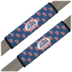 Dawson Eagles Football Seat Belt Covers (Set of 2) (Personalized)