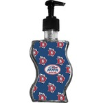 Dawson Eagles Football Wave Bottle Soap / Lotion Dispenser (Personalized)