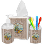 Lake House Bathroom Accessories Set (Personalized)