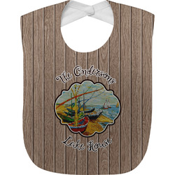 Lake House Baby Bib (Personalized)