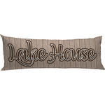 Lake House Body Pillow Case (Personalized)