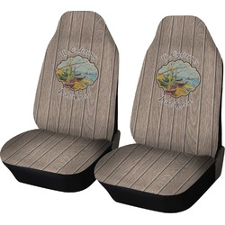 Lake House Car Seat Covers (Set of Two) (Personalized)