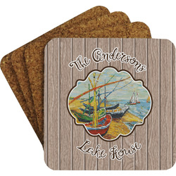 Lake House Coaster Set (Personalized)