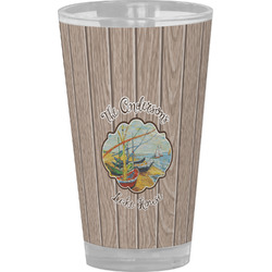 Lake House Drinking / Pint Glass (Personalized)