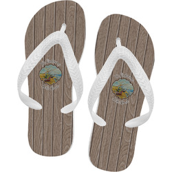 Lake House Flip Flops (Personalized)