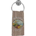 Lake House Hand Towel - Full Print (Personalized)