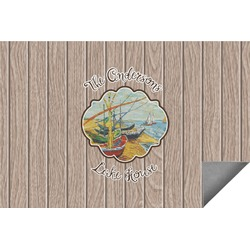 Lake House Indoor / Outdoor Rug (Personalized)