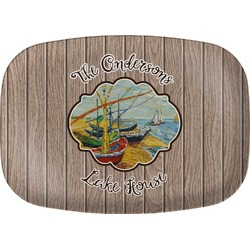 Lake House Melamine Platter (Personalized)