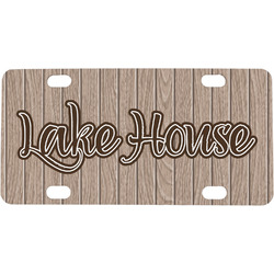 Lake House Mini / Bicycle License Plate (Personalized)