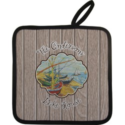 Lake House Pot Holder (Personalized)