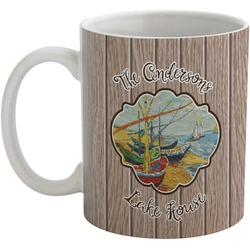 Lake House Coffee Mug (Personalized)