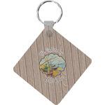 Lake House Diamond Key Chain (Personalized)