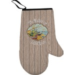 Lake House Oven Mitt (Personalized)