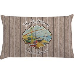 Lake House Pillow Case (Personalized)