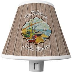 Lake House Shade Night Light (Personalized)