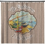 Lake House Shower Curtain (Personalized)
