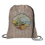 Lake House Drawstring Backpack (Personalized)