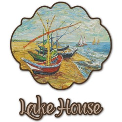 Lake House Graphic Decal - Custom Sized (Personalized)