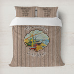 Lake House Duvet Cover (Personalized)