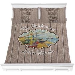 Lake House Comforter Set (Personalized)