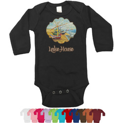 Lake House Long Sleeves Bodysuit - 12 Colors (Personalized)