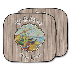 Lake House Car Sun Shade - Two Piece (Personalized)