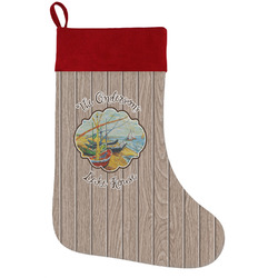 Lake House Holiday Stocking w/ Name or Text