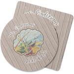 Lake House Rubber Backed Coaster (Personalized)