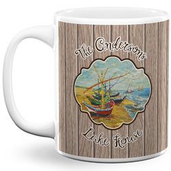 Lake House 11 Oz Coffee Mug - White (Personalized)