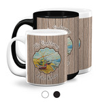 Lake House Coffee Mugs (Personalized)